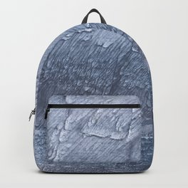 Light slate gray colorful wash drawing design Backpack