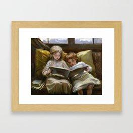 Laura Muntz Lyall Interesting Story Framed Art Print