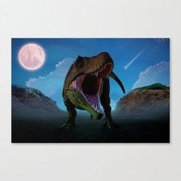 Dino Moon by GEN Z Canvas Print