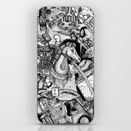 Cerebral Composition two iPhone Skin