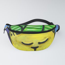 Succulent Kitty Fanny Pack