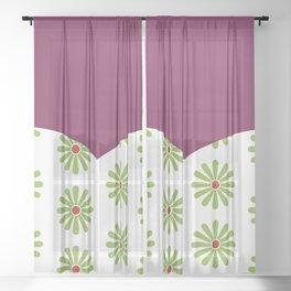 Haunted Mansion Tightrope Walker Sheer Curtain