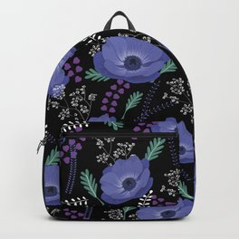 Anemones I: cold in circle Backpack