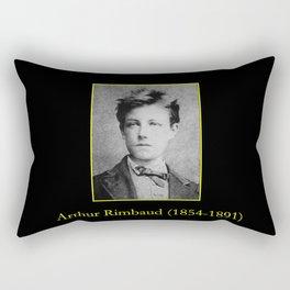 Etienne Carjat - Portrait of Rimbaud Rectangular Pillow