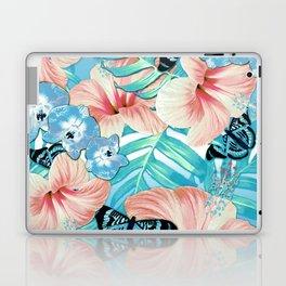 Tropical Spring Aqua Laptop & iPad Skin