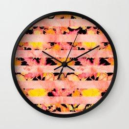 Autumn leaves #16 Wall Clock