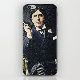 Oscar Wilde iPhone Skin