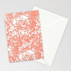 Abstract minima modern painting office dorm college nursery decor canvas art print Stationery Cards
