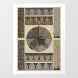 Art Nouveau Design Art Print