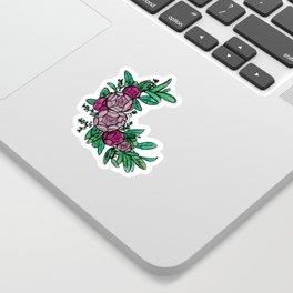 Roses Wreath Sticker