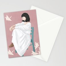 waiting Stationery Cards