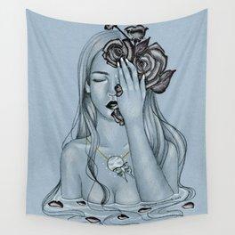 Blackroses 3 Wall Tapestry
