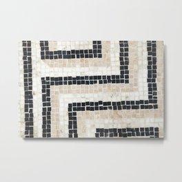 Mosaic Detail Metal Print