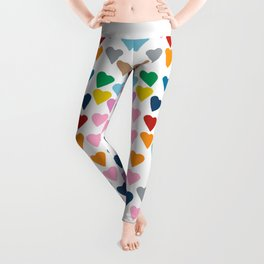 Hearts Heart Teacher Leggings