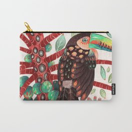 Toucan In A Fruit Tree Carry-All Pouch