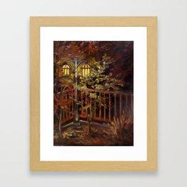 Halcyon Glow Framed Art Print