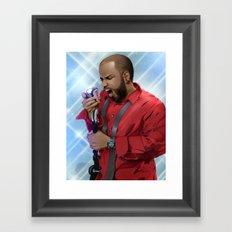 Pop Star Framed Art Print
