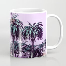 Three palm trees. Coffee Mug
