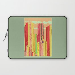 Uptown Downtown Summer Eve Laptop Sleeve