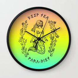 DEEP SEA PARA[DIES] Wall Clock