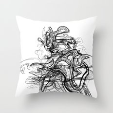 Kaiju /  Codename: fo4rfifteen. Throw Pillow