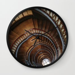 Stairs IV Architecture Wall Clock