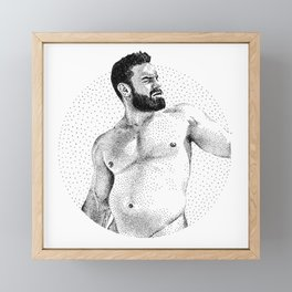 Joey - NOODDOOD Framed Mini Art Print