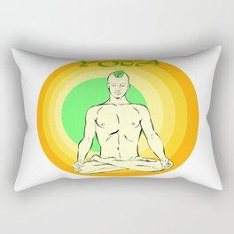 Yoga: asana Rectangular Pillow