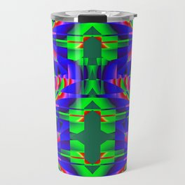 Cool Geometric patterns & psychedelic colors Travel Mug