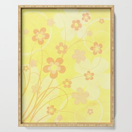 Summer floral Serving Tray