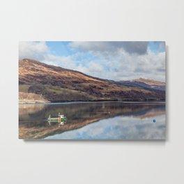 Loch Carron Metal Print
