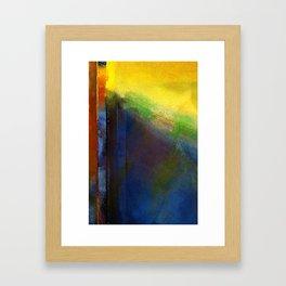 The Calling Digital Painting Framed Art Print