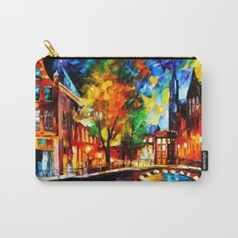 Starry Night Tardis Carry-All Pouch