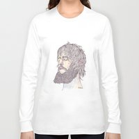 ben giles Long Sleeve T-shirts featuring Ben Bridwell  by Jesse Robinson Williams