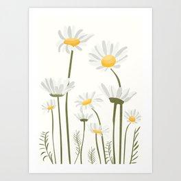 Summer Flowers III Art Print