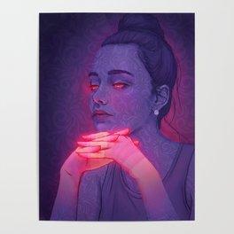 Floral Girl 2 (Dasha Taran) Poster