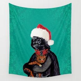 Vader Christmas Wall Tapestry