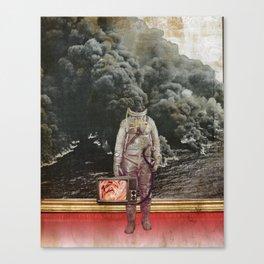aus gebrannt Canvas Print