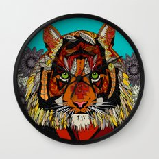 tiger chief Wall Clock