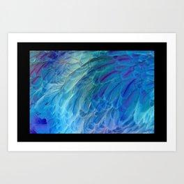 Ice Blue Art Print