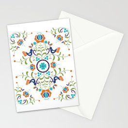 Hungarian folk art Stationery Cards