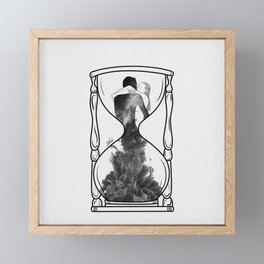 It's our time. Framed Mini Art Print