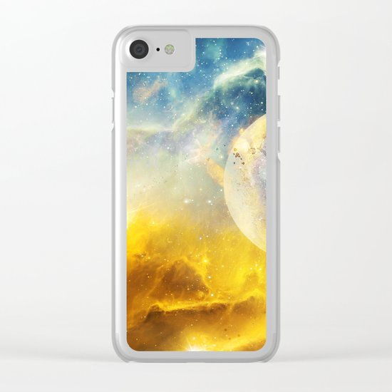 Dreaming the Stars Clear iPhone Case