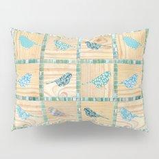 Birds On Parade Pillow Sham