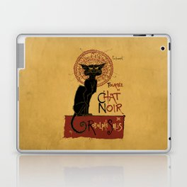 Le Chat Noir Laptop & iPad Skin