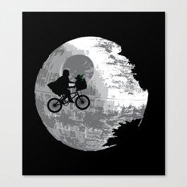 Yoda Phone Home Canvas Print
