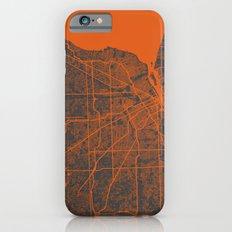 Detroit map iPhone 6s Slim Case