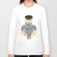sailor Long Sleeve T-shirts featuring Sailor. by WEUSEDTODANCE