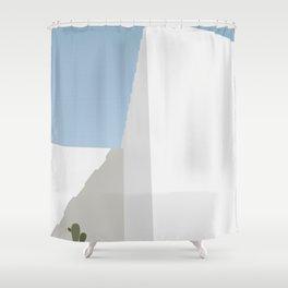 S01 - Archi Cactus Shower Curtain