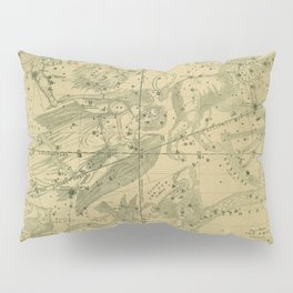 Atlas, Designed to Illustrate the Geography of the Heavens, plate IV (1850) Pillow Sham